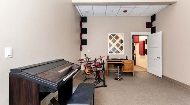 Student Activity Center Music Room