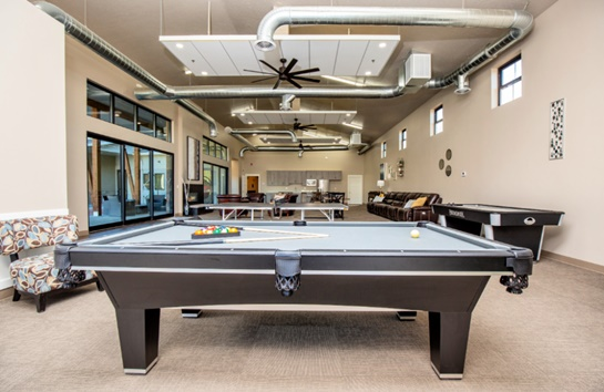 Student Activity Center Game Room