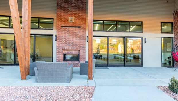 Student Center Patio